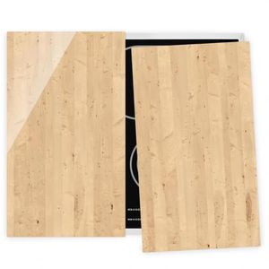 PLAQUE INDUCTION Couvre plaque de cuisson - Apple Birch - 52x60cm,