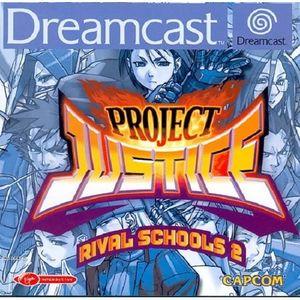 JEU DREAMCAST Project Justice: Rival School 2