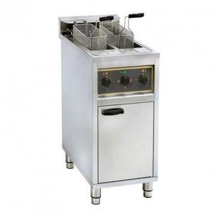 FRITEUSE ELECTRIQUE Friteuse sur coffre électrique - 2 x 10 litres - 1