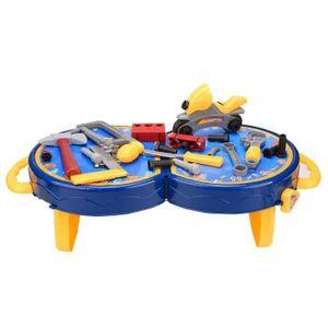 BRICOLAGE - ÉTABLI Jouets de 25 Pcs Mini Simulation plastique outils