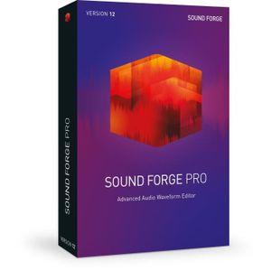 MULTIMÉDIA MAGIX Logiciel Sound Forge Pro 12 - Box EN