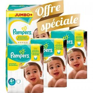 COUCHE 147 Couches Pampers New Baby Premium Protection ta