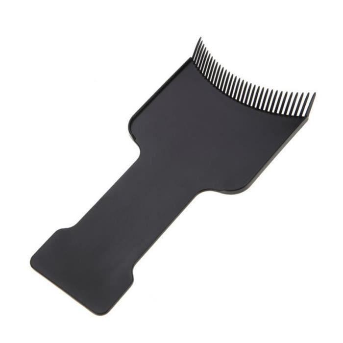 2 pièces planche de teinture des cheveux dentée professionnelle pratique de coloration outil de APPAREIL ABDO - PLANCHE ABDO