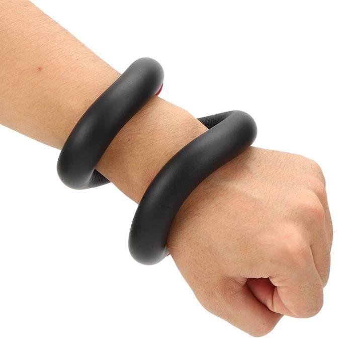 Atyhao Bracelet de roulement de poids Bracelet de poids pour courir Jogging Natation Yoga Fitness Bâton de musculation(12 onces -