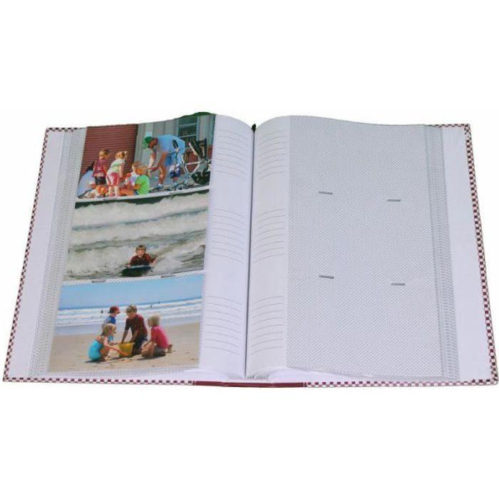 lot 3 albums photo elements 300 pochettes 10x15 - Bleu vert 10x15 cm Bleu Vert