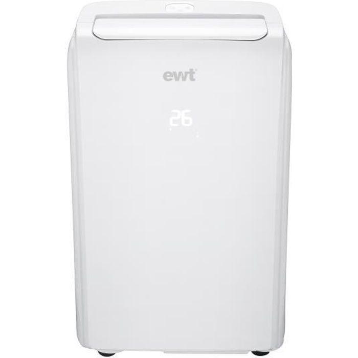 Climatiseur mobile réversible EWT SNOWAIR12HE 12000Btu