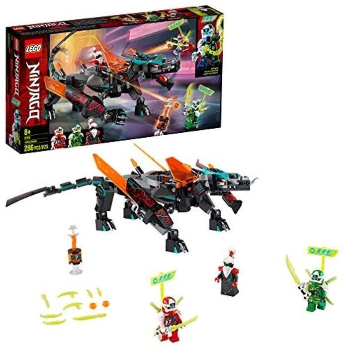 Jeu D'Assemblage LEGO H6XOS NINJAGO Empire Dragon 71713 Kit de construction de jouets Ninja, 22 (286 pièces)