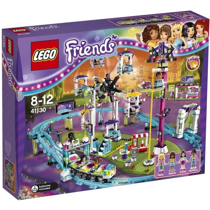 LEGO® Friends 41130 Les Montagnes russes du Parc d'Attractions