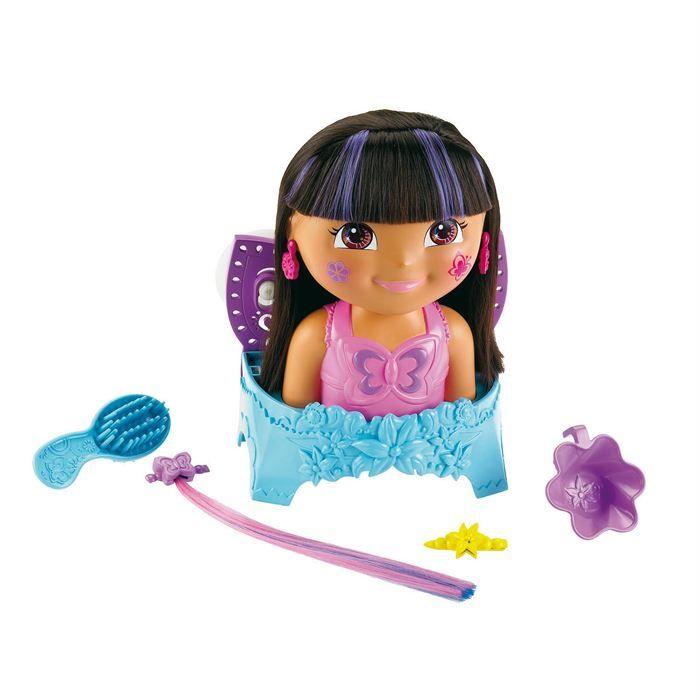Tête À Coiffer Dora - Ventouse pour le bain