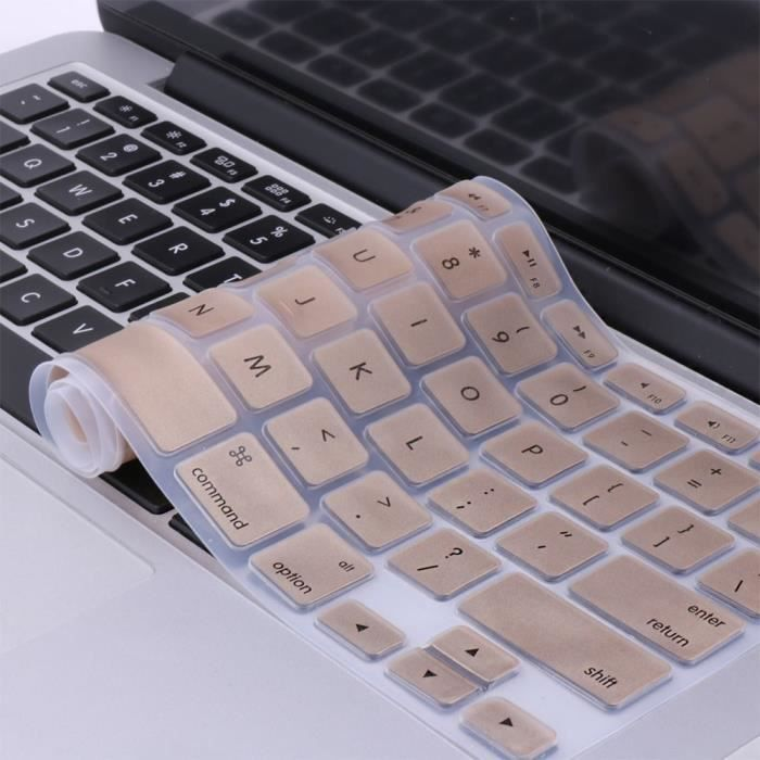 WE Clavier de protection pour Macbook Or (Pro 13 / 15 /17)