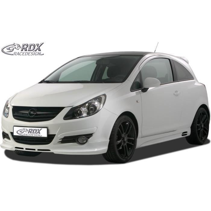 Spoiler avant RDX Opel Corsa D -2011