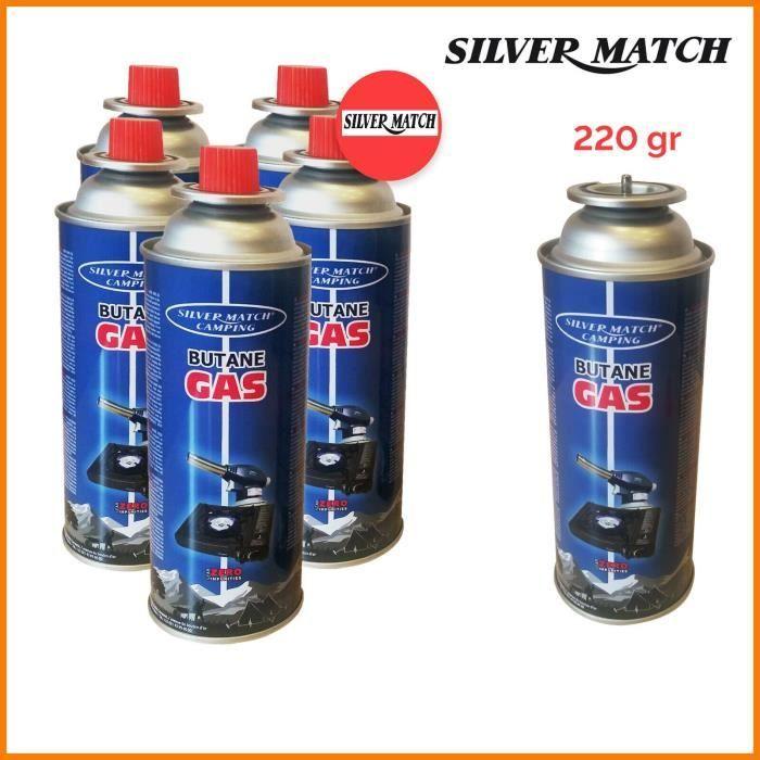 4 cartouches gaz 227g butane Bouteille de gaz standard 227 g - bonbonne pour Réchaud Chalumeau camping prix imbattable !