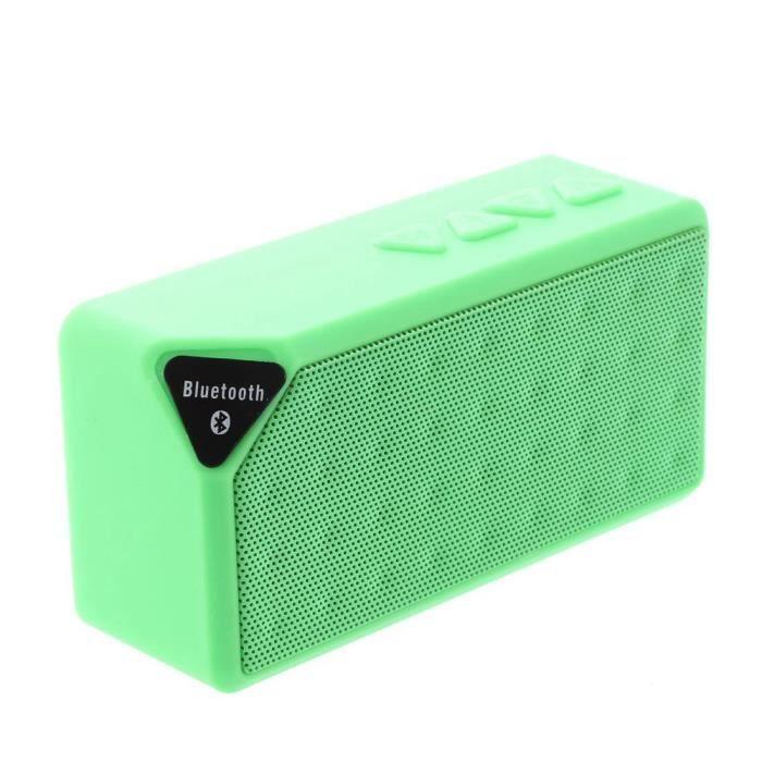 Sans fil Bluetooth SUPER BASSE Boombox Mini haut-parleur pour iPhone Samsung Tablette PC