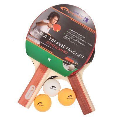 STANDARD SET - 2 Raquettes de Tennis de Table- …