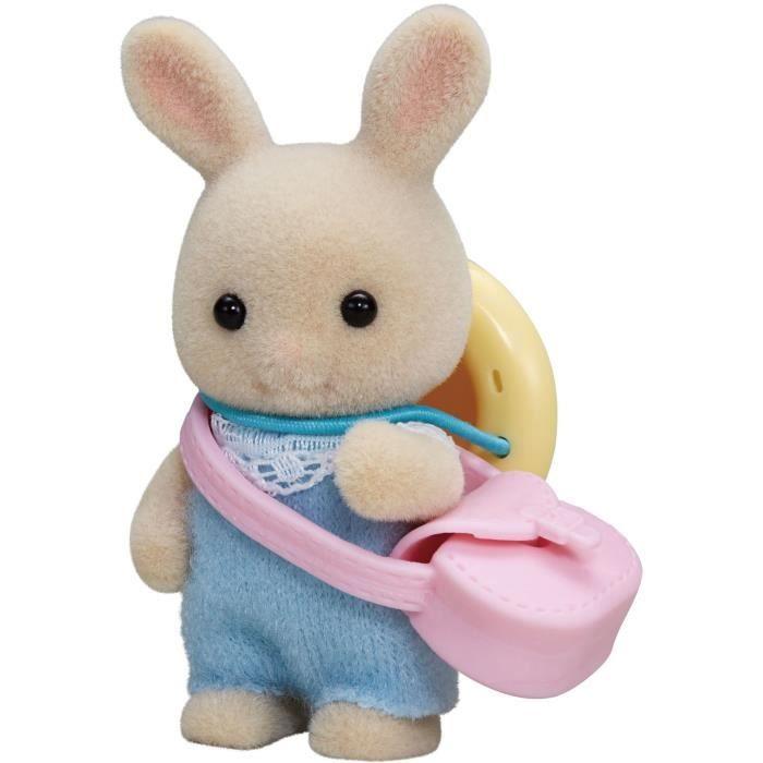 Sylvanian families 5413 : Le bébé lapin crème Coloris Unique