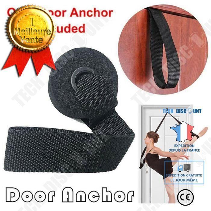 TD® Exercice nouveau Yoga sur l'ancre de porte bandes de résistance de remise en forme à domicile bande élastique accessoires de yog