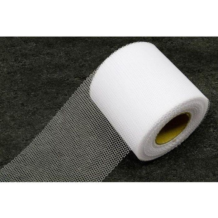 Ruban tulle blanc, 20m (x1) REF/RL290