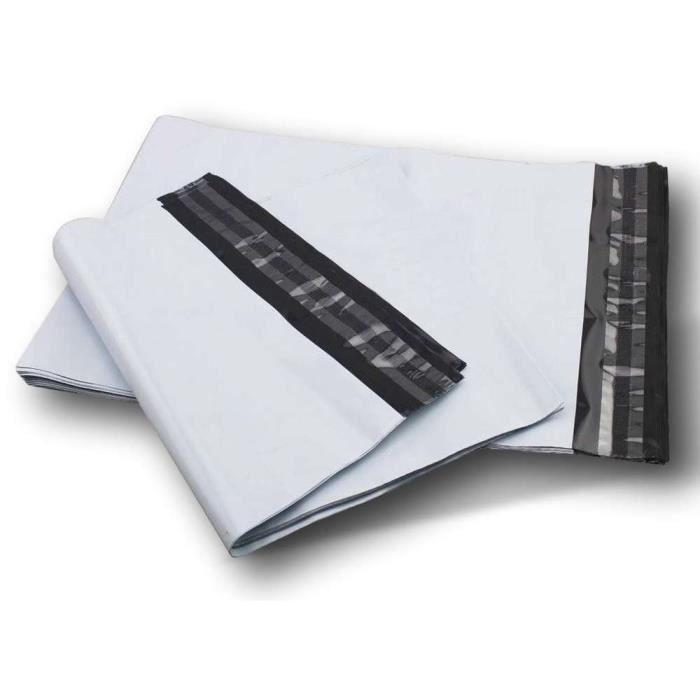 lot de 100 enveloppes pochettes A5 plastique opaque 170 x 240 mm