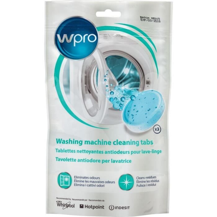 WPRO AFR301 Tablettes nettoyantes antiodeurs