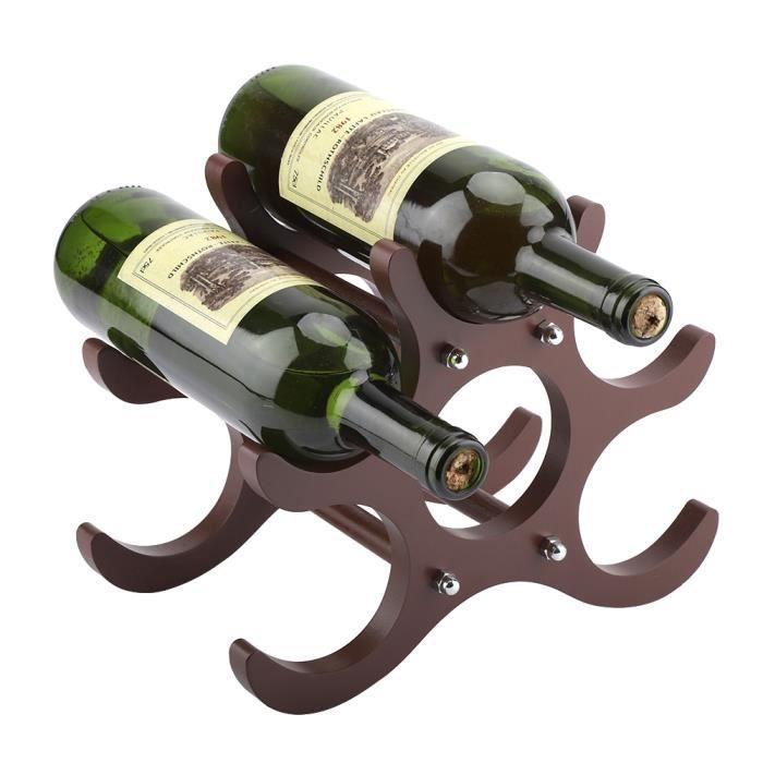 PORTE-VERRE MEIHESHOP Casier à vin Etagère à vin Porte-6 boute