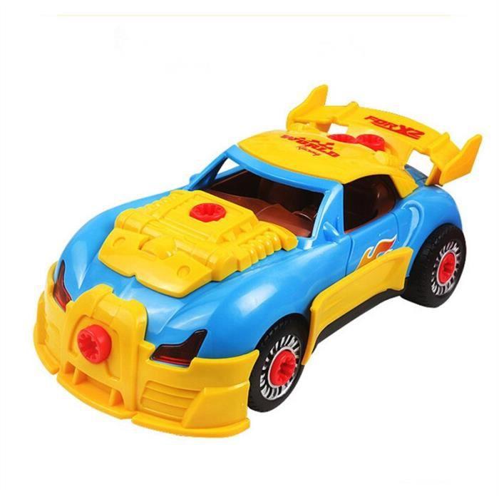 Voiture De Course De Sport De Dessin Anime Bugatti Veyron Voiture De Jouet Electrique De Telecommande Achat Vente Camion Enfant Cdiscount