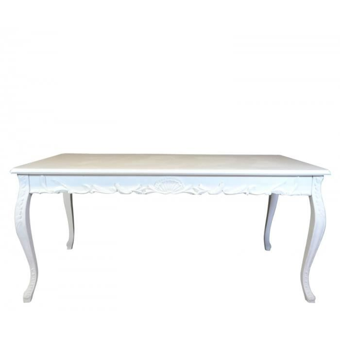 table baroque blanche achat vente table a manger seule. Black Bedroom Furniture Sets. Home Design Ideas