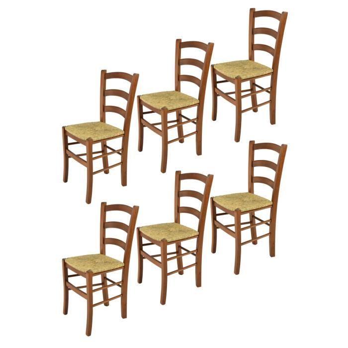 Tommychairs Set 6 Chaises Venice Pour La Cuisine Bar Et La
