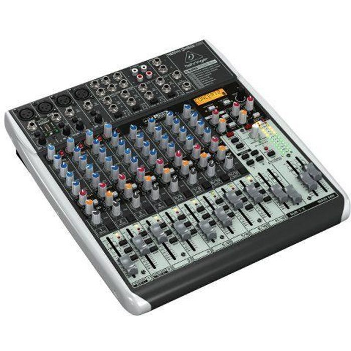 behringer qx1622usb xenyx table de mixage 8 canaux table de mixage avis et prix pas cher. Black Bedroom Furniture Sets. Home Design Ideas