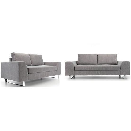 ensemble de canap 3 2 yel gris achat vente canap sofa divan soldes d t cdiscount. Black Bedroom Furniture Sets. Home Design Ideas