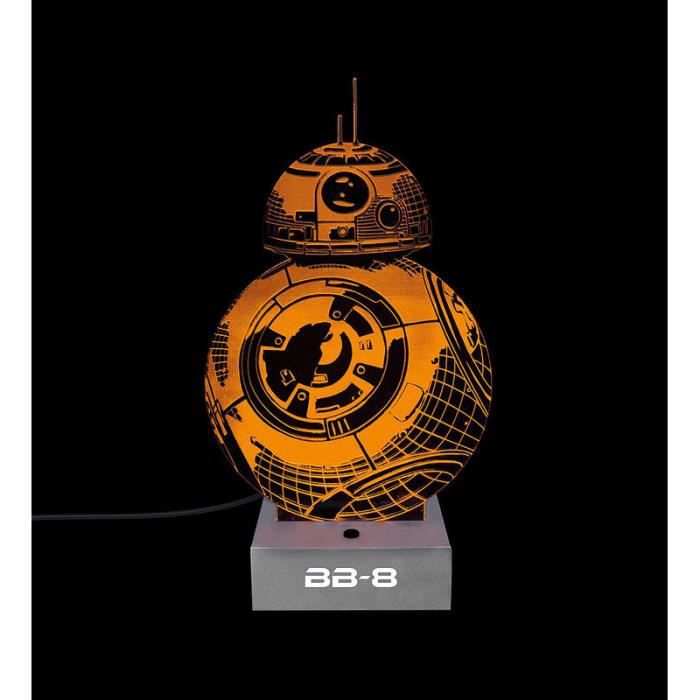 lampe bb8 achat vente pas cher. Black Bedroom Furniture Sets. Home Design Ideas