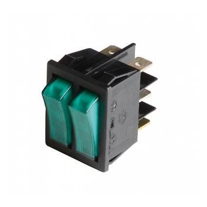 PIÈCE CHAUFFAGE CLIM Double interrupteur general-pompe - COSMOGAS : 605