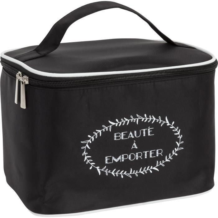 Case4Life Noir Trousse de Toilette Suspendu R/ésistant /à leau Sac de Voyage Sac de Lavage Garantie /à vie Sac Cosm/étique