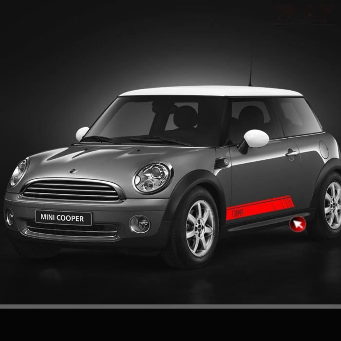 Kit Cooper Rouge Mini Cooper S D Sd One Paceman Stickers Achat