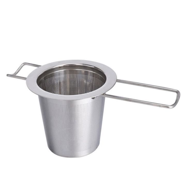 PC 2pcs plastique Filtre à café réutilisable Coffee Dripper feuilles de thé filtre