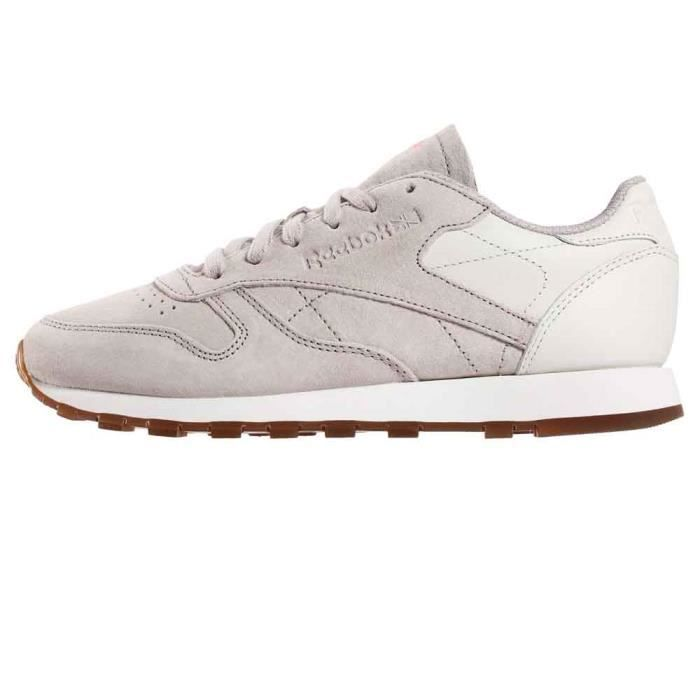 Chaussures femme Baskets Reebok Classics Leather Eb