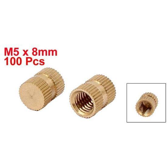 Filetage Insert 10 Pièces Insert Inserts Filetés Utilisation m3 à m5 Sélectionner Une Taille