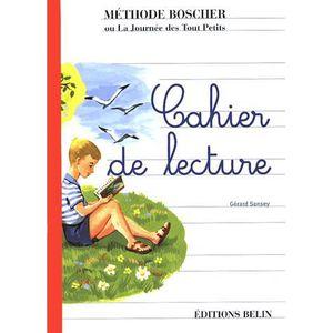 MANUEL PRIMAIRE Boscher Cahier de lecture