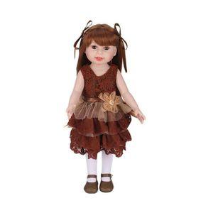 POUPON Fille poupée bébé poupée réaliste Reborn poupées j