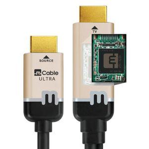 CÂBLE TV - VIDÉO - SON Cable by Marseillle Câble HDMI avec processeur vid