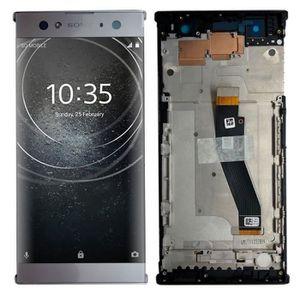 ECRAN DE TÉLÉPHONE CPROPRO ARGENTE Écran LCD +Tactile Vitre Avec Cadr