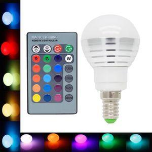 AMPOULE - LED E14 Ampoule de Couleur 3W RGB Ampoule Multicolore