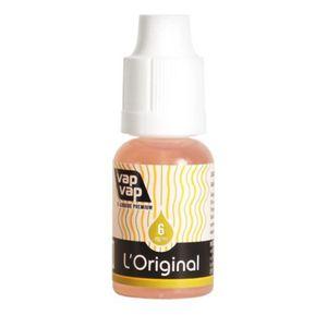LIQUIDE 20ml E.Liquide Tabac Blond Sec 6mg nicotine