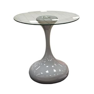 TABLE BASSE Table basse laquée Grise design