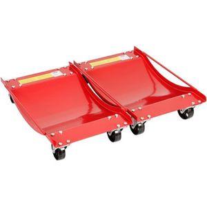 CHARIOT DE GARAGISTE Varan Motors - HMBC-006 Paires de chariots de dépl