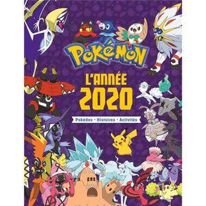 LIVRE JEUX ACTIVITÉS Livre - Pokémon ; l'année 2020 ; pokédex, histoire
