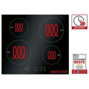 PLAQUE INDUCTION Plaque de cuisson à induction encastrable Bomann E