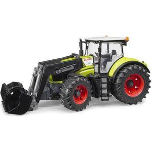 VOITURE - CAMION BRUDER - 03013 - Tracteur CLAAS Axion 950 avec fou