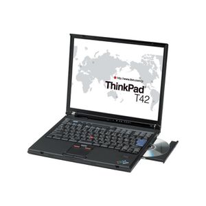 ORDINATEUR PORTABLE Lenovo ThinkPad T42 2374 Pentium M 735 - 1.7 GHz W