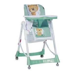 CHAISE HAUTE  Chaise Haute Réglable Evolutive pour Bébé Primo Ve