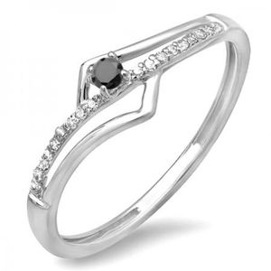 BAGUE - ANNEAU Bague Femme Diamants 0.10 ct 471-1000  10 ct 471-1